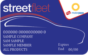 StreetFleet fuel card